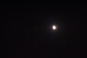 Moon, Saturn, and Spica
