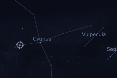 Deneb and Cygnus