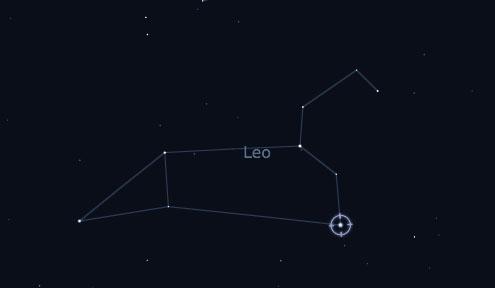 Regulus in Leo