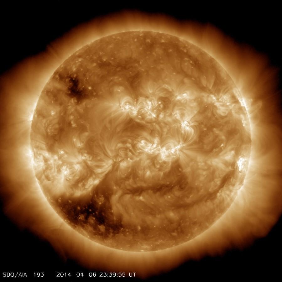 Sun in UV